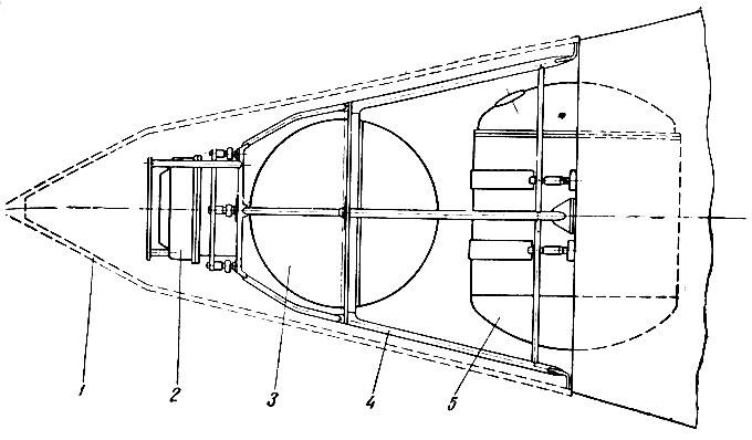 Схема размещения аппаратуры на
