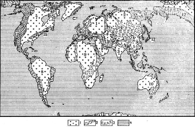 Общий взгляд на структуру земли